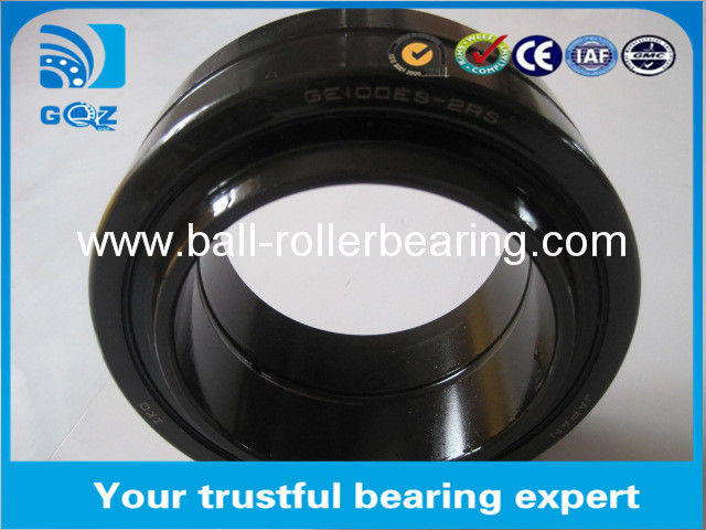 Lubrication Holes GE17ES-2RS Spherical Plain Thrust Bearing With Annular Groove 17x30x14mm