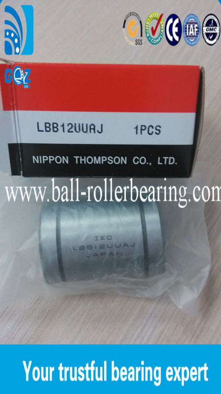 Metric Standard Open Linear  Ball Bearing With Multi Column Rows LBB12UUAJ