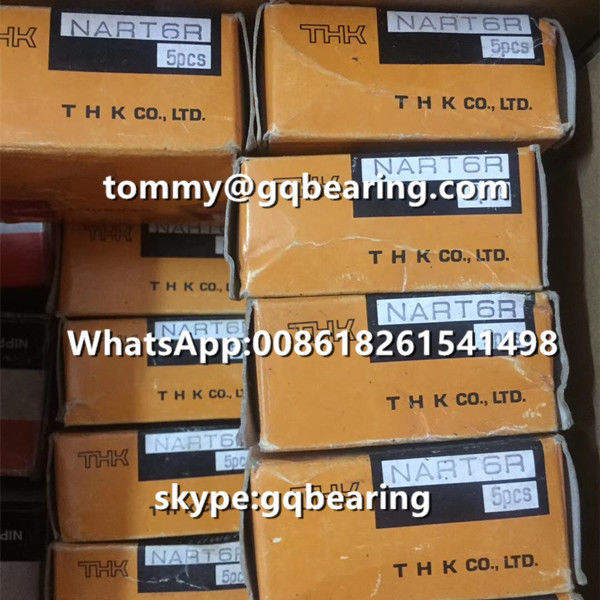 Chrome Steel Material THK NART25UUR Non-separable Type Track Roller Bearing