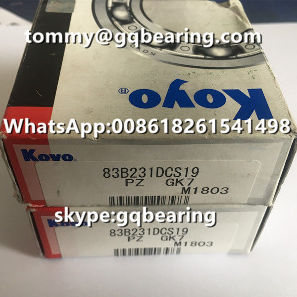 Chrome Steel Material Koyo 83B231 Wheel Hub Bearing 83B231DCS19 RAV4 Automotive Bearing