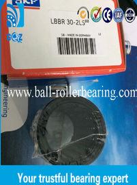 Roulements à billes linéaires de LBBR 30-2LS, incidences linéaires rondes avec la cage en nylon