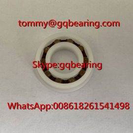 Chine POM Plastic Material F6901 Flanged Plastic Ball Bearing 12x24x6mm usine